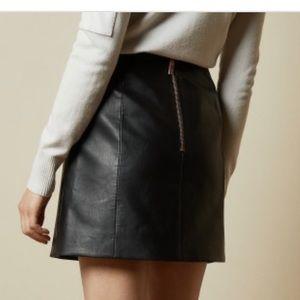 Ted Baker London Skirts - Ted baker faux leather skirt